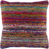 Surya Palu Multicolor Eclectic Throw Pillow ALU002