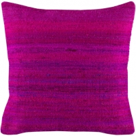 Surya Palu Purple Eclectic Throw Pillow ALU003