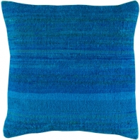Surya Palu Blue Eclectic Throw Pillow ALU004