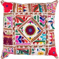 Surya Karma Multicolor Throw Pillow AR068