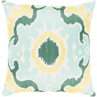 Surya Effulgence Blue Mid-Century Throw Pillow EFF001