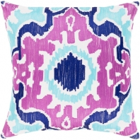 Surya Effulgence Purple Mid-Century Throw Pillow EFF002