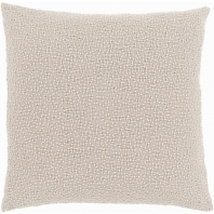 Surya Eliza Gray Throw Pillow EZ003