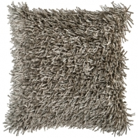 Surya Nitro Beige Fur Shag Throw Pillow FA054