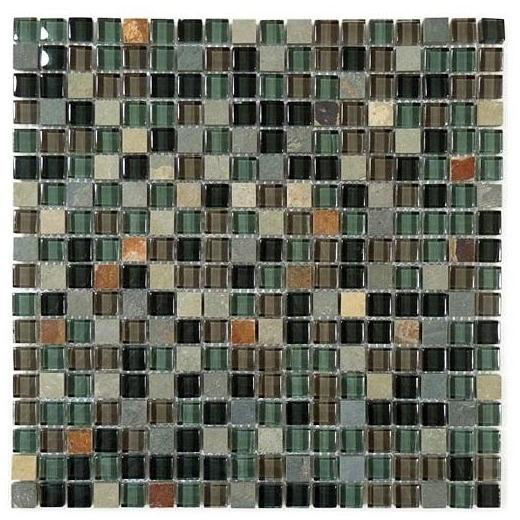 Glazzio Glass & Slate Series Forest Floor GS13