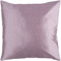 Surya Solid Luxe Pink Throw Pillow HH030