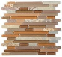 Tile Glass & Slate Hillcrest Tan GS04