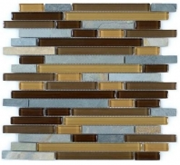 Tile Glass & Slate Mineral Cliff GS12