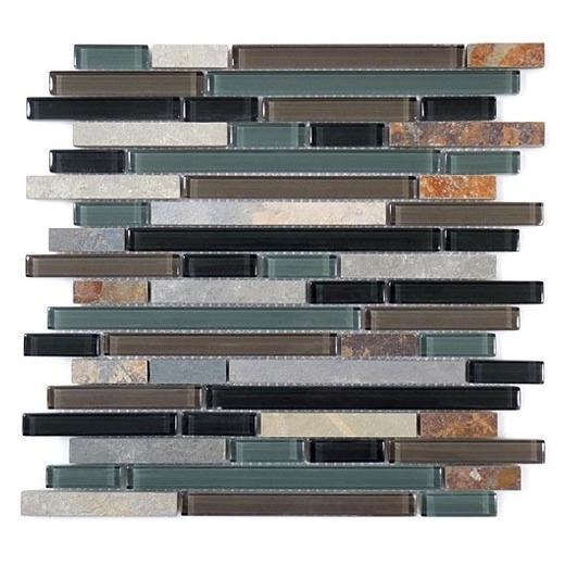 Glazzio Glass & Slate Series Forest Floor GS14