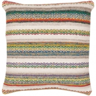 Surya Isabella Multicolor Scandinavian Throw Pillow IB001