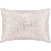 Surya Jena White Throw Pillow JEA002
