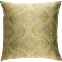 Surya Kalos Green Abstract Mid-Century Throw Pillow KLS004