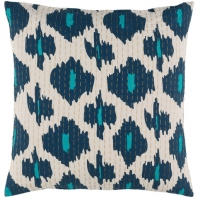 Surya Kantha Beige Scandinavian Throw Pillow KTH002