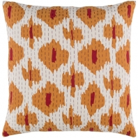 Surya Kantha Beige Scandinavian Throw Pillow KTH003