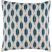 Surya Kantha Beige Scandinavian Throw Pillow KTH004