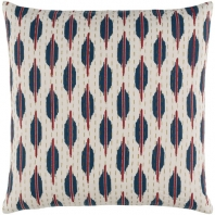 Surya Kantha Beige Scandinavian Throw Pillow KTH005