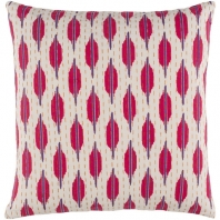 Surya Kantha Beige Scandinavian Throw Pillow KTH006