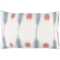 Surya Kumo Beige Abstract Scandinavian Throw Pillow KU001