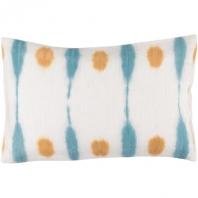 Surya Kumo Beige Abstract Scandinavian Throw Pillow KU002