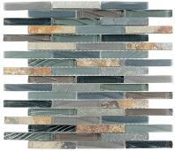 Tile Glass & Slate Forest Floor GS37