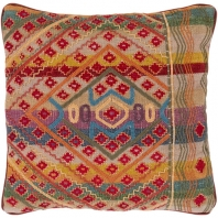 Surya Monetta Multicolor Scandinavian Throw Pillow MOP001