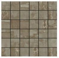 Soci Jacquard Graphite Natural 2x2 Mosaic SSF-5022