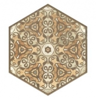 Soci Terre Stamp 10x11.5 Hexagon Tile SSF-5060