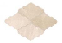 Soci Crema Marfil Opus Pattern Arabesque Tile SSC-1301
