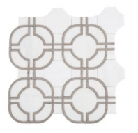 Soci Metric Pattern Everett Blend Waterjet Tile SSC-1316