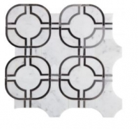 Soci Metric Pattern Fusion Blend Waterjet Tile SSC-1317