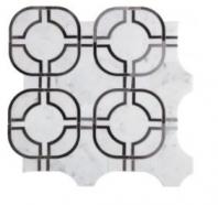 Soci Metric Pattern Fusion Blend Waterjet Tile SSC-1317