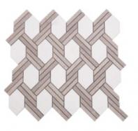Soci Knot Pattern Everett Blend Hexagon Tile SSC-1322