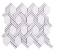 Soci Knot Pattern Grace Blend Hexagon Tile SSC-1323