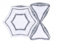 Soci Monarch Pattern Iceland Blend Hexagon Tile SSC-1332