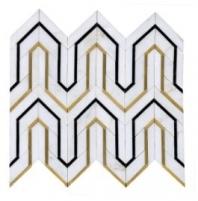 Soci Dover Pattern Cicero Blend Waterjet Tile SSC-1339