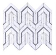Soci Dover Pattern Iceland Blend Waterjet Tile SSC-1341