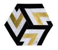 Soci Metro Pattern Cicero Blend Hexagon Tile SSC-1343