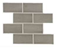 Soci Fog Crackle 3x6 Brick Tile SSE-809