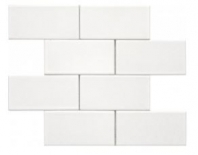 Soci White 3x6 Brick Tile SSE-812