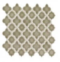Soci Amara Fog Crackle Arabesque Tile SSE-818
