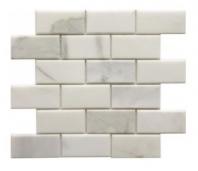 Soci Calacutta Bevel 2x4 Brick Tile SSH-218