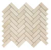Soci Long Crema Marfil Herringbone Tile SSH-250