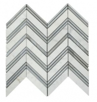 Soci Glacier Blend Chicago Chevron Tile SSH-273