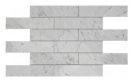 Soci White Carrera 2x8 Brick Tile SSH-291