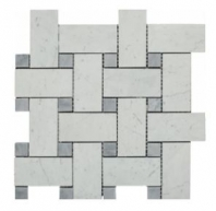 Soci Glacier Blend Imperial Basketweave Tile SSH-303
