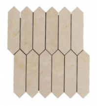 Soci Crema Marfil Baroque Hexagon Tile SSH-306