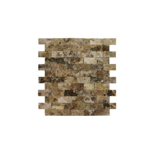 Soci Irish Creme Splitface 1x2 Brick Tile SSK-2003