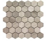 """Soci Marquette Honed 2"""" Hexagon Tile SSK-3017"""