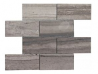 Soci Athens Gray Honed 3x6 Subway Tile SSK-924