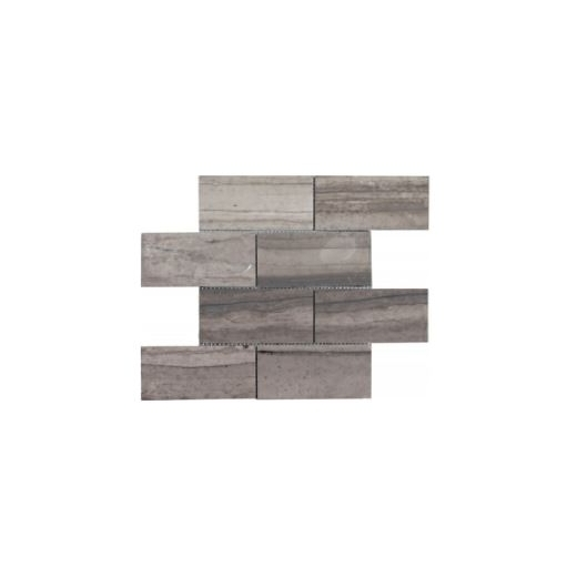 Soci Ssk924 Athens Gray Honed 3x6 Subway Tile